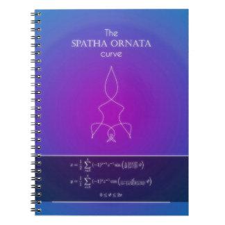 Mathematics Notebook - Spatha Ornata Theme