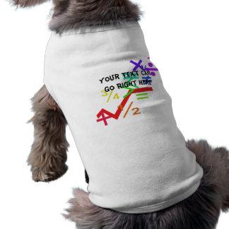 Mathematics Pet Shirt