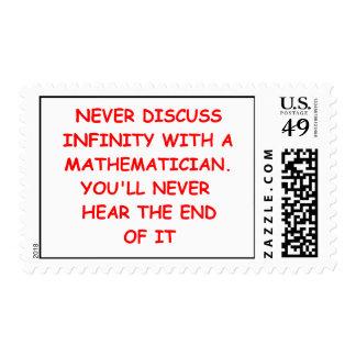 mathematics stamps
