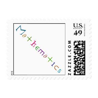 Mathematics Postage Stamps