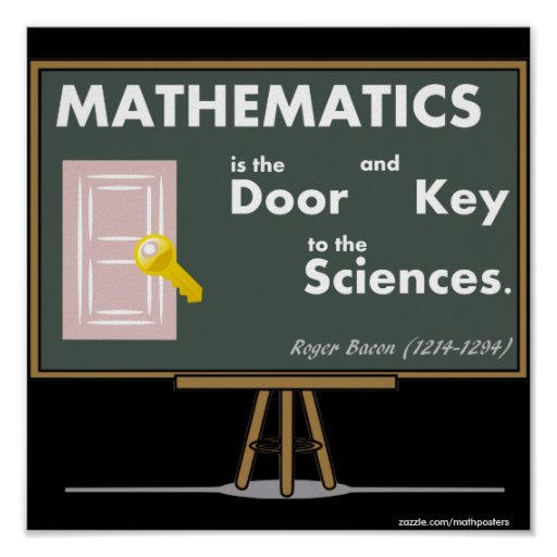 Mathematics Posters Quotes