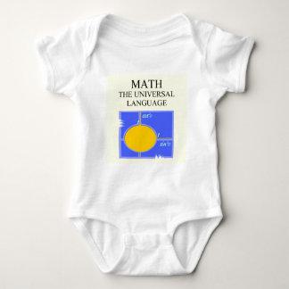 mathematics rules baby bodysuit