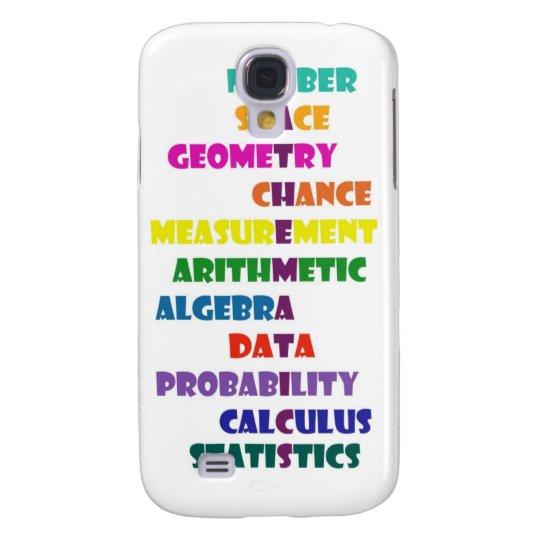 Mathematics Samsung Galaxy S4 Cover