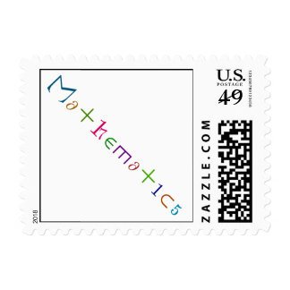 Mathematics Stamp
