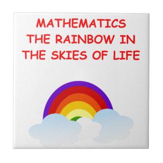 mathematics tiles