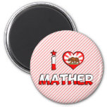 Mather, CA Fridge Magnets