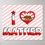 Mather, CA Print