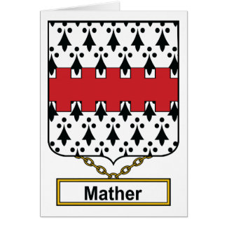 Mather Family Crest Card