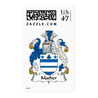 Mather Family Crest Postage