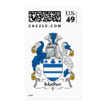 Mather Family Crest Stamp
