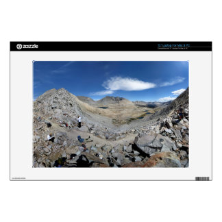 "Mather Pass Panorama - John Muir Trail 13"" Laptop Decal"