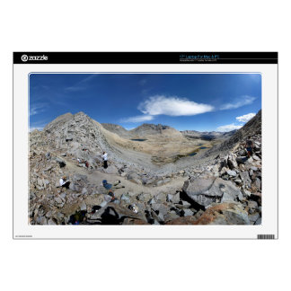 "Mather Pass Panorama - John Muir Trail 17"" Laptop Decal"