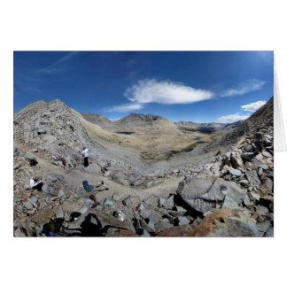 Mather Pass Panorama - John Muir Trail Card