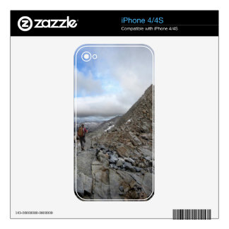 Mather Pass Storm - John Muir Trail - Sierra iPhone 4S Decals