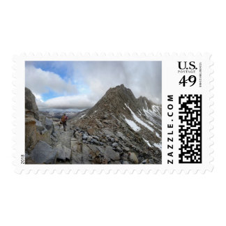 Mather Pass Storm - John Muir Trail - Sierra Postage
