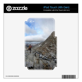 Mather Pass Storm - John Muir Trail - Sierra Skin For iPod Touch 4G