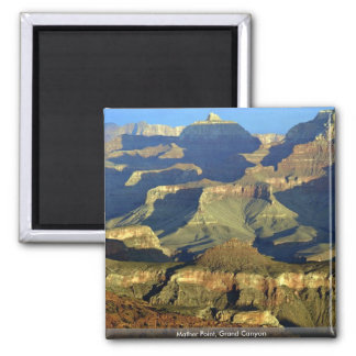 Mather Point, Grand Canyon 2 Inch Square Magnet