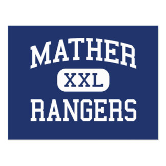 Mather - Rangers - High School - Chicago Illinois Postcard