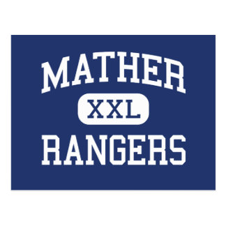 Mather - Rangers - High School - Chicago Illinois Postcard