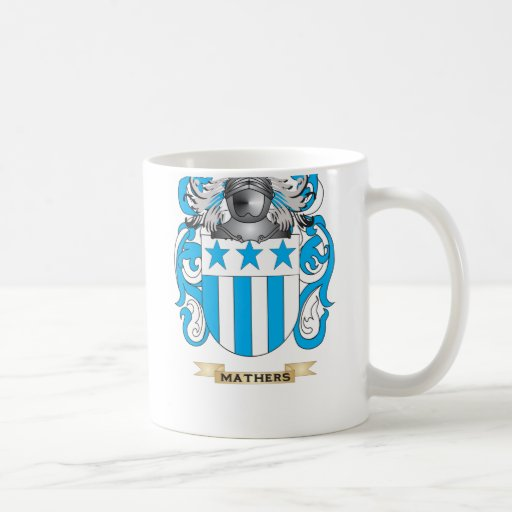 Mathers Coat of Arms (Family Crest) Coffee Mug