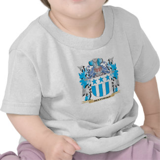 Mathers Coat of Arms - Family Crest Tee Shirt