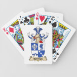 Mathes Family Crest Bicycle Playing Cards