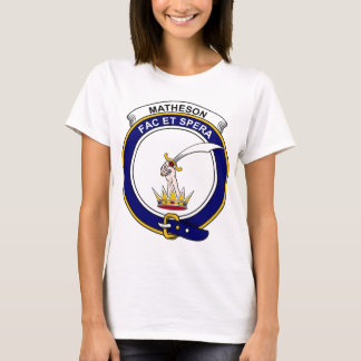 Matheson Clan Badge T-Shirt