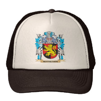 Matheson Coat of Arms - Family Crest Trucker Hat