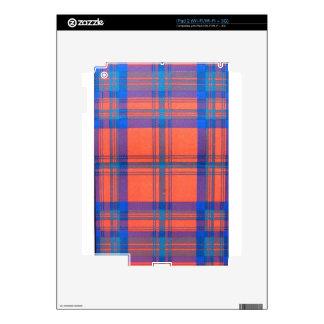 MATHESON SCOTTISH FAMILY TARTAN iPad 2 SKINS