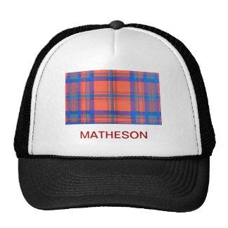 MATHESON SCOTTISH FAMILY TARTAN TRUCKER HAT