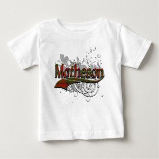 Matheson Tartan Grunge Baby T-Shirt