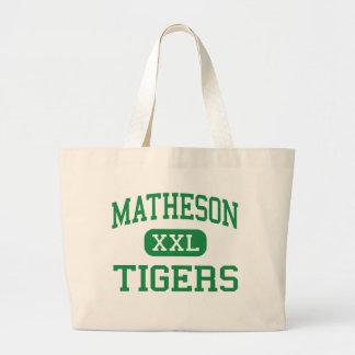 Matheson - Tigers - Junior - Magna Utah Canvas Bags