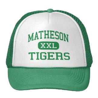 Matheson - Tigers - Junior - Magna Utah Hat