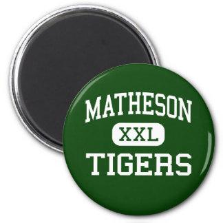 Matheson - Tigers - Junior - Magna Utah Fridge Magnets