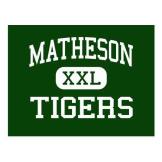 Matheson - Tigers - Junior - Magna Utah Postcard