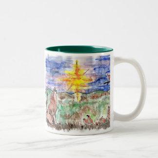 Mathew 2:2 Two-Tone coffee mug