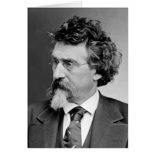 Mathew B. Brady - fotógrafo famoso de la guerra Tarjeta De Felicitación