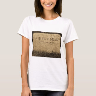 Mathew Brady  - Famed Civil War Photographer T-Shirt