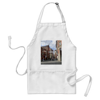 Mathew Street in Liverpool Adult Apron