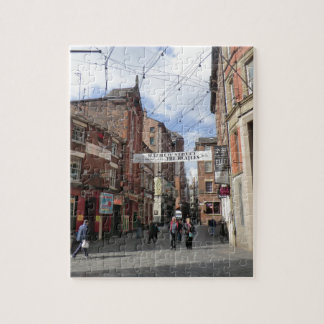 Mathew Street in Liverpool Jigsaw Puzzle