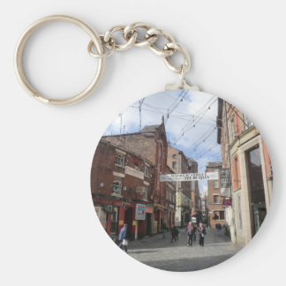 Mathew Street in Liverpool Key Chains