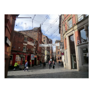 Mathew Street in Liverpool Postcard