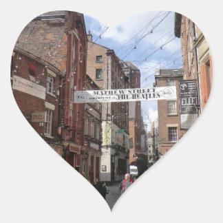 Mathew Street in Liverpool Sticker