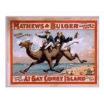 Mathew y Bulger en la postal gay de Coney Island