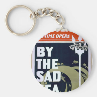 Mathews and Bulger, 'By the sad sea waves' Retro T Keychains