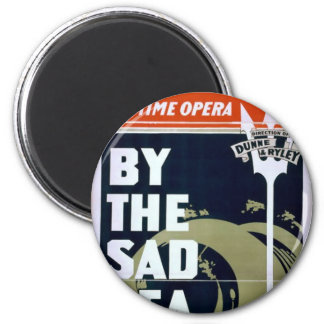 Mathews and Bulger, 'By the sad sea waves' Retro T Magnet