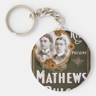 Mathews and Bulger Vintage Theater Keychain