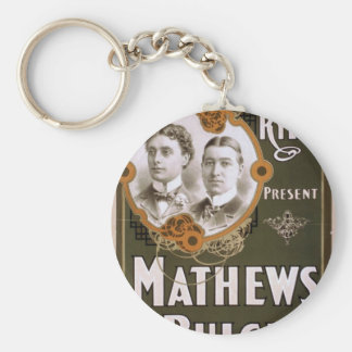 Mathews and Bulger Vintage Theater Key Chain