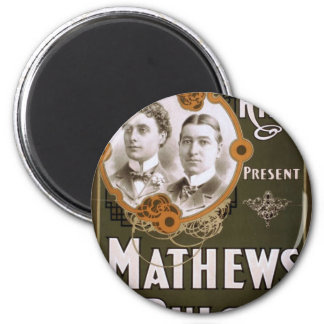 Mathews and Bulger Vintage Theater Refrigerator Magnet