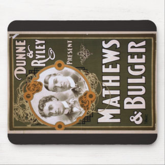 Mathews and Bulger Vintage Theater Mouse Pad